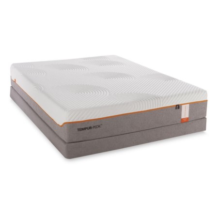 King Firm Mattress and Low Profile Foundation