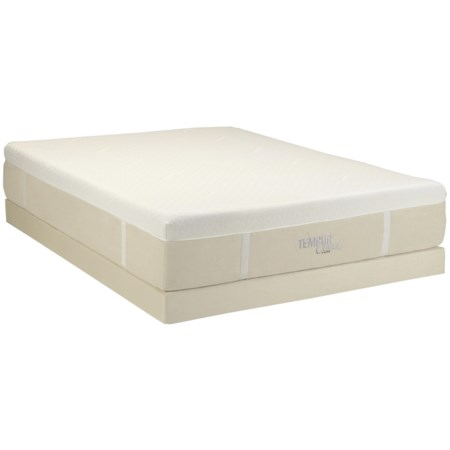 Queen TEMPUR-Cloud® <i>Luxe</i> and Low Profile Foundation <i> by</i> Tempur-Pedic®