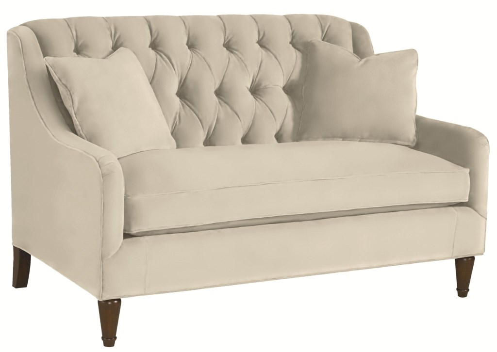 Well known Thomasville® Barcelona 1690-13 Tufted Back Settee Sofa | Dunk  SS91