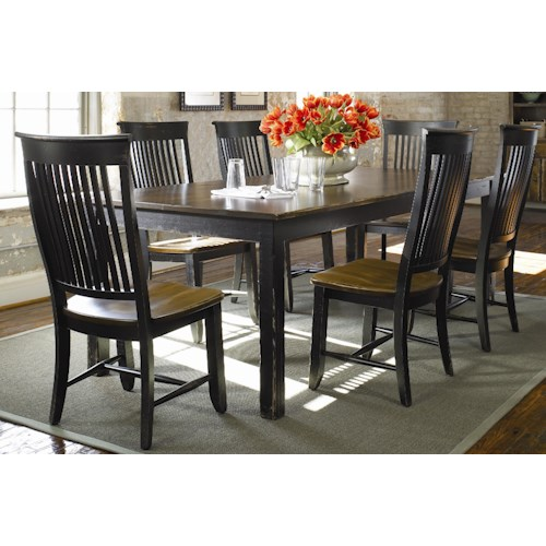 Luxury Color Custom Dining Room Furniture Thomasville Color Caf Custom Dining Customizable 7 Piece Table And Chair