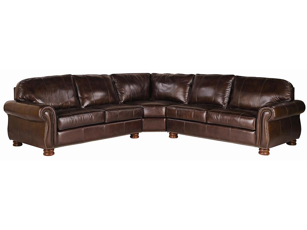 Thomasville benjamin leather sectional sofa sofa review for Thomasville sectional sofa leather