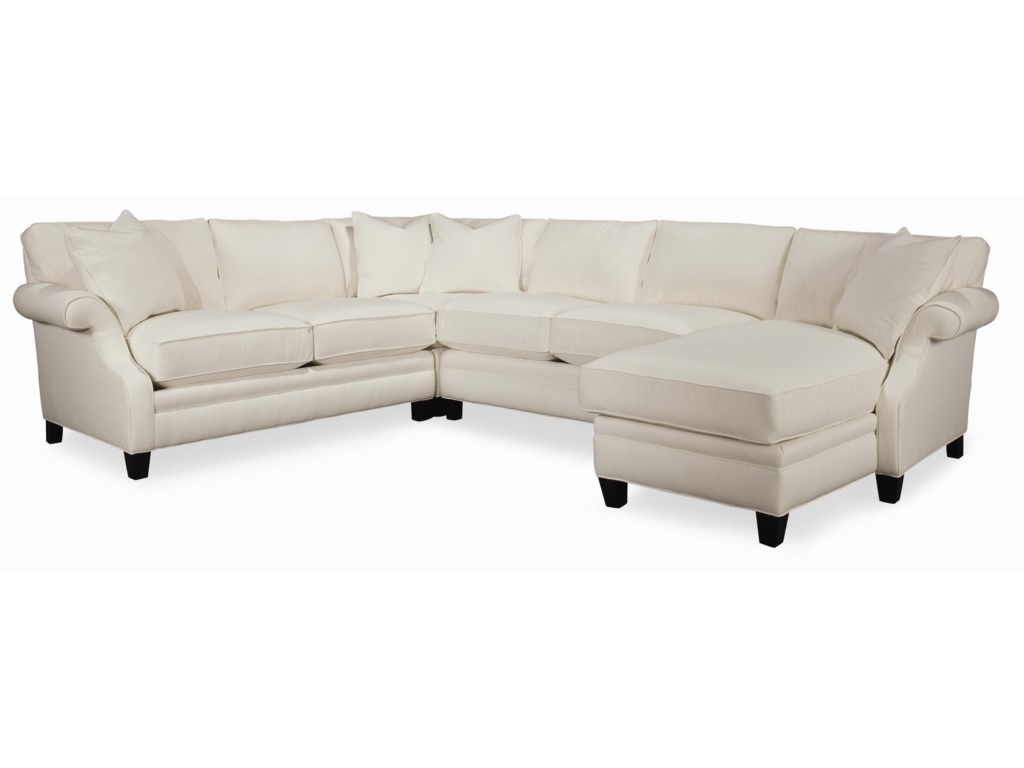 Thomasville sectional sofas sectionals living room for Small sectional sofa thomasville