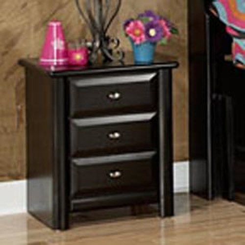 trendwood laguna night stand with 3 drawers wilson 39 s
