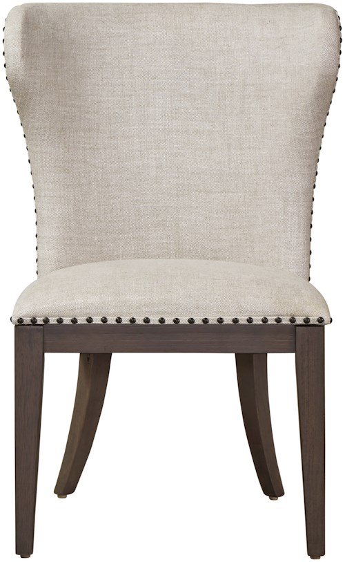 Universal curated bladwin chair stoney creek furniture for Top rated dining room tables