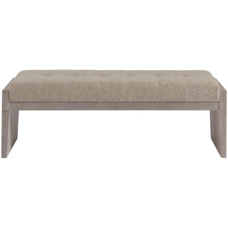 Upholstered Bed End Bench