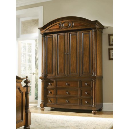Armoire Base and Deck Combo