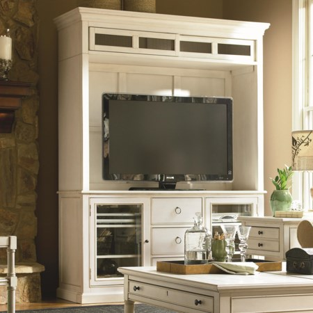Entertainment Console and Deck