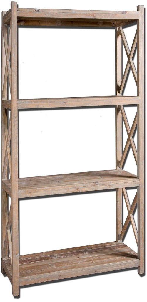 Accent Furniture Stratford Simple Etagere Rotmans Open Bookcases Worcester Boston Ma