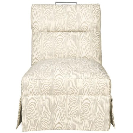 Transitional Brattel Road Armless CHair