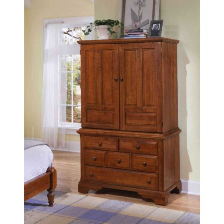 Heirloom Armoire Deck and Base