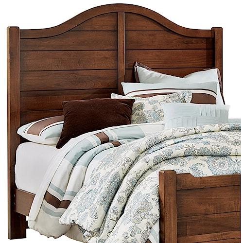 american factory direct bedroom furniture vaughan bassett american maple 400 559 queen shiplap