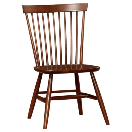 Desk Chair with Spindle Back