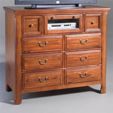 8 Drawer Media Console