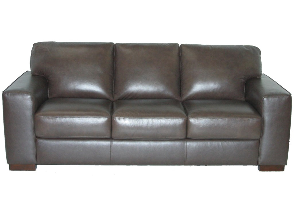 Violino Leather Sofa 3 Seater Violino Leather Sofa In