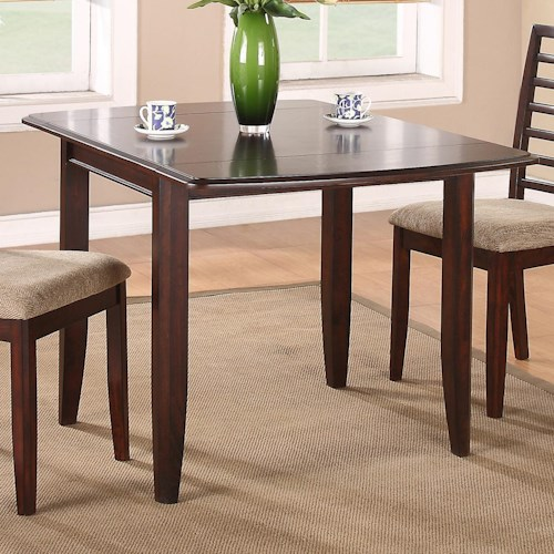Winners only brownstone 50 leg table with ash veneers for Kitchen table only
