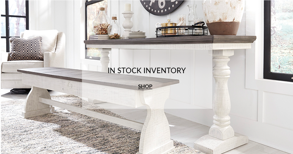 Shop in stock inventory