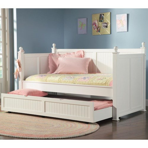 Coaster Daybeds By Clic Twin Daybed With Trundle