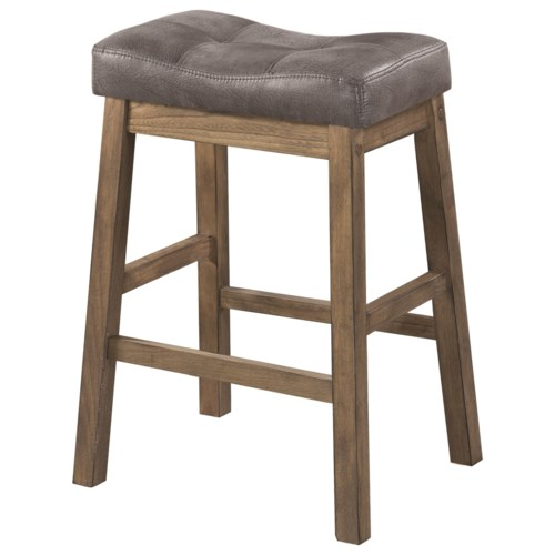 Coaster Dining Chairs And Bar Stools Rustic Backless Counter Height Stool Fine Furniture