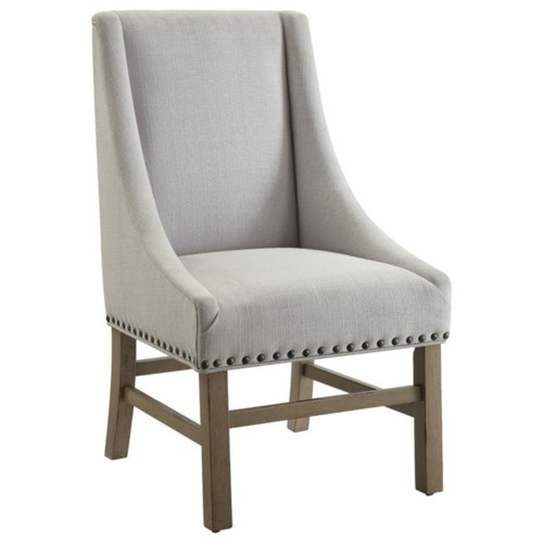 Donny Osmond Home Florence Upholstered Dining Chair With Nailhead Trim Coaster Fine Furniture