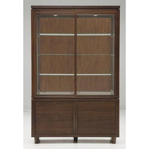 Casana Simply Modern Contemporary China Cabinet